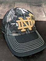 Notre Dame Fighting Irish Top of the World Snapback mesh hat Hawaiian unique