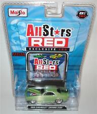 1968 '68 CHEVROLET CHEVY CAMARO Z/28 Z28 MAISTO ALLSTARS RED DIECAST