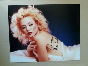 """VIRGINIA MADSEN signed 10""""x8"""" PHOTO with UACC RD C.O.A certified"""