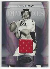 2008 Leaf Certified Materials John Elway Jersey Card - #026/100