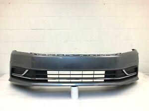 2016 2017 2018 2019 volkswagen passat S SE SEL front bumper (platinum gray) #6