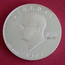 Harry s Truman 1973 Silver Proof Pattern essai dollar-Tirage 50