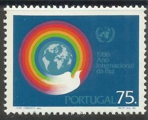 Portugal 1986 - International Peace Year set MNH