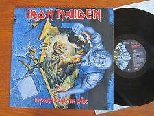 ORIGINAL VINYL LP IRON MAIDEN NO PRAYER FOR THE DYING 1990 + OIS METAL AC/DC EX