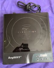 BergHOFF 1600-watt Power Induction Stove 1810003 STOVETOP SINGLE HOT PLATE USED