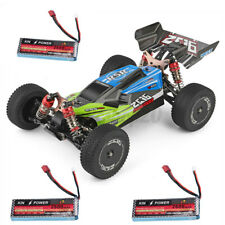 Wltoys 144001 1/14 2.4G 4WD Speed Truck RC Offroad Auto Spielzeug mit 3 Batterie