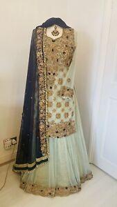 Asian Indian Pakistani Wedding Dress Lengha Bridal Bridesmaid/Mehendi