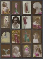 1928 BAT Albert Cigarettes Beauties Tobacco Cards Lot of 18