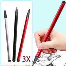 3pcs Capacitive Touch Screen Stylus Pen Universal for Tablet iPad Smart Phone PC