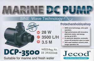 Jebao / Jecod Förderpumpe DCP-3500 mit Controller - 3.500L/h meerwassertauglich