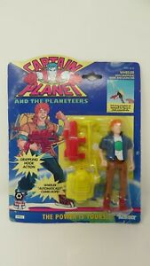 Captain Planet And The Planeteers Action Figure. Wheeler with Grappling Hook