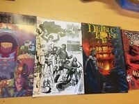 Ashcan Lot Set Of 4 Judge Dredd Young Animal Diablo House Spooky The Strange