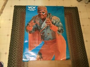 Vintage WCW WWE Original 1991 Starmaker Sting Poster Rare 22x32 Never Opened!