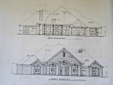 Custom House Plan 1 Story 3 Bed 3 Bath 3 Car Garage Home 2851 Sq Ft 4272 Total