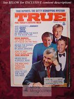 TRUE February 1974 TV TALK J L SEAGULL GETTY KIDNAPPING
