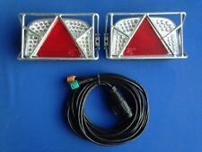 PKW Anhänger LED Rückleuchten Set 12 Volt incl. Schutzgitter Art. Nr. 137