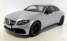 Véhicules miniatures argenté en résine pour Mercedes
