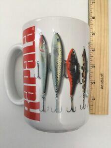 Rapala Fishing Lures Coffee Cup Mug Bass Trout Salmon