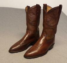 """Vintage Tony Lama Western Cowboy Leather Riding Casual boots men's 10D """"Usa"""""""