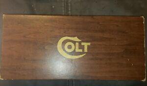 "Colt  3 rd DRAGOON  7.5"" .44  Blue  Hand Gun Pistol Revolver EMPTY BOX w/ Papers"