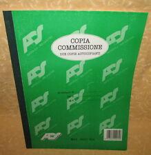 COPIA COMMISSIONE A4 AUTOCOPIANTE 2 COPIE ADS 0601 RIC  cod.11347
