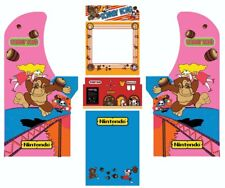 Arcade1up Arcade Cabinet Graphic Decal Complete Kits - Donkey Kong