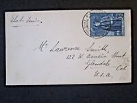 Belgium 1930 Cover w/ 1.75Fr Issue and Philatelic Expo Cancel - Z4829