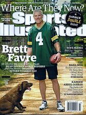 New Sports Illustrated Brett Favre Green Bay Packers 7/6/15 No Label