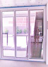 PREMIUM SLIDING DOOR | ALUMINIUM - DOUBLE GLAZED - 2110H X 2710W | LEFT LOCK