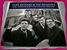 CLIFF RICHARD & THE SHADOWS > SINGLES & EP'S COLLECTION 1958 - 1962 4CDs OVP