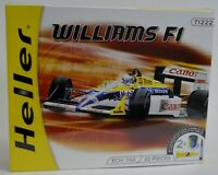 Heller Williams F1 Model Kit Formula 1 71222 1/43 Scale 22 Piece Sealed W/ Paint