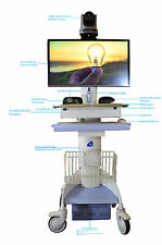 Fully Customized Telemedicine flo FMC 1405 or Metro 1750 Cart, All New Devices
