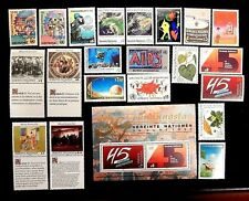 United Nations Vienna complete years 1989 & 1990 88-109 MNH