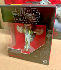 Disney Hasbro Star Wars The Black Series Titanium Series Jango Fett Slave One