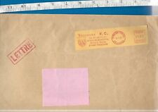 Large EMPTY Toulouse Football Club envelope. 1987 meter cancellation