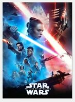 Star Wars: The Rise of Skywalker Trailer Poster Card 2 topps card