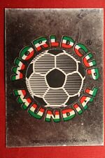 PANINI MEXICO 86 WORLD CUP WORLD CUP MUNDIAL # 1 WITH ORIGINAL BACK!!