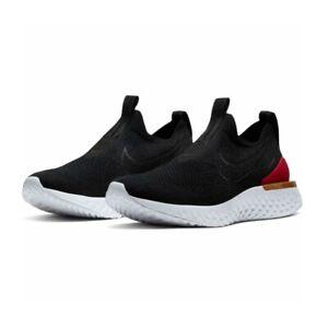 Nike Women's Epic Phantom React Flyknit BV0415-004 - Black University Red - 7.5
