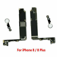 Main Board Motherboard Replacement for iPhone 8 /8 Plus 64GB 256GB Unlocked