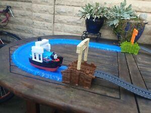 Thomas And Friends Thomas At Sea Train Track Boat Play Set Trackmaster
