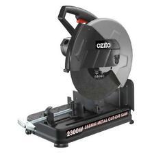 "Metal Cut Off Saw Steel Chop Saw Drop & 1 Abrasive Cutting Disc 355mm 0-45° 14"""