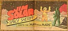 JIM SOLAR SPACE SHERIFF MEETS MAN FROM MARS WISCO VITAL PROMO GIVEAWAY RARE F/F+