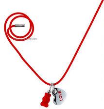 Haribo Damen Mädchen Kinder Silikon Halskette Rot 360125500