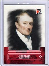 JOHN MOLSON 10/11 ITG Canadiana Red Base Card #47 Beer Brewing Brewer Politician