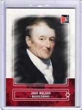 JOHN MOLSON 10/11 ITG Canadiana Red Base Card #47 Beer Brewing Brewer Politician