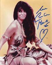 Caroline Munro AUTHENTIC Autographed Photo COA SHA #11582