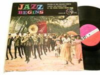 YOUNG TUXEDO BRASS BAND Jazz Begins Paul Barbarin John Brunious Jim Robinson LP