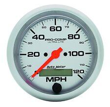 AUTO METER 4487 3-3/8'' ULTRA-LITE ELEC. SPEEDO 120 MPH