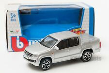 2011 VOLKSWAGEN Amarok in Silver - 1 43 Diecast VW Car Model Burago Street Fire
