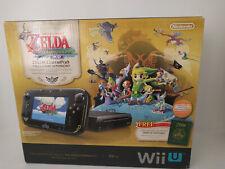 Nintendo Wii U Legend of Zelda Windwaker HD =NO CONSOLE; Box And Inserts Only=